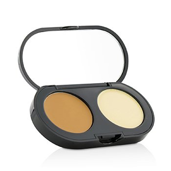New Creamy Concealer Kit - Warm Honey Creamy Concealer + Pale Yellow Sheer Finish Pressed Powder