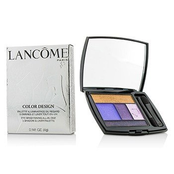 Lancome Color Design Paleta 5 Sombras & Delineadores - # 313 Jacaranda Bloom