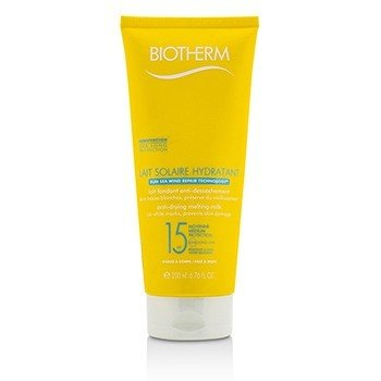 Biotherm Lait Solaire Hydratant Leche Anti-Secante SPF 15 - For Face & Body