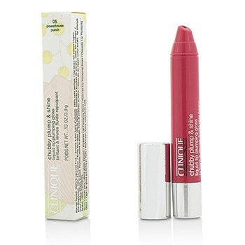 Clinique Chubby Plump & Shine Brillo de Labios Líquido Llenante - #05 Powerhouse Punch