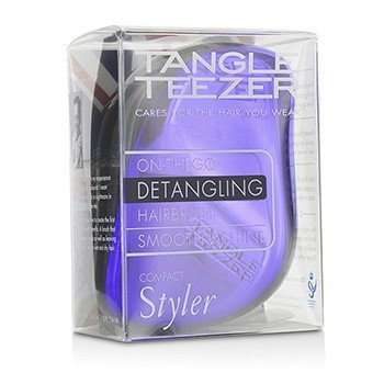 Tangle Teezer Compact Styler On-The-Go Cepillo de Cabello Desenredante - # Purple Dazzle