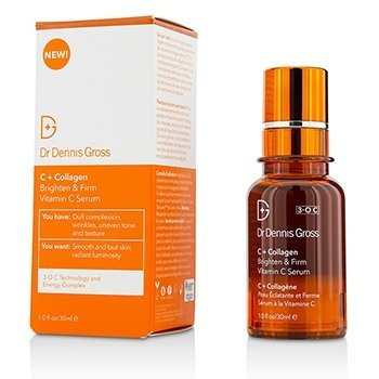 Dr Dennis Gross C + Collagen Suero de Vitamina C Iluminante & Reafirmante