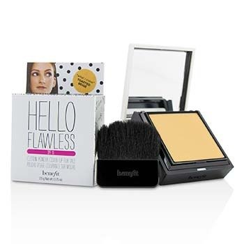 Benefit Hello Flawless! Polvo Personalizado Cobertura Para Rostro SPF15 - # What I Crave (Toasted Beige)