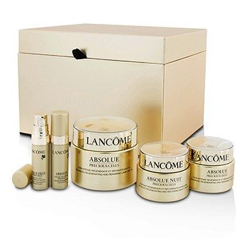 Lancome Set Absolue Precious Cells: Cuidado Reparador SPF 15 50ml&15ml + Crema de Noche 15ml + Oleo-Suero 5ml + Concentrado de Ojos 5ml