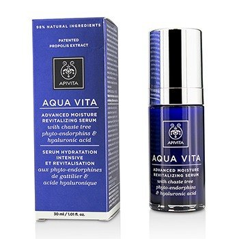 Apivita Aqua Vita Advanced Moisture Revitilisng Serum With Chaste Tree
