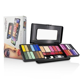 MakeUp Kit Deluxe G2215 (24x Eyeshadow, 3x Blusher, 2x Pressed Powder, 5x Lipgloss, 2x Applicator)