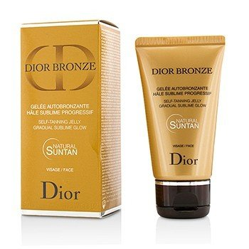 Dior Bronze Self-Tanning Jelly Gradual Sublime Glow Face