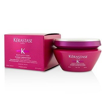 Kerastase Reflection Masque Chromatique Mascarilla Multi Protectora (Cabello Sensibilizado Tratado con Color o con Iluminaciones - Cabello Fino)
