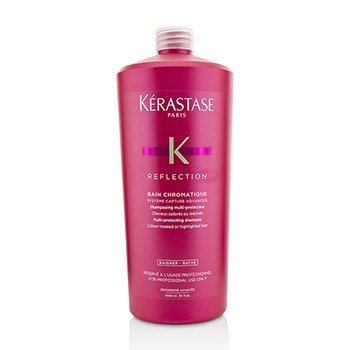 Kerastase Reflection Bain Chromatique Champú Multi Protector (Cabello Tratado con Color o con Iluminaciones)