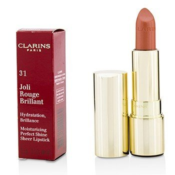 Clarins Joli Rouge Brillant (Moisturizing Perfect Shine Sheer Lipstick) - # 31 Tender Nude