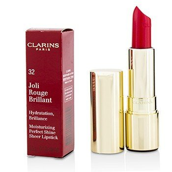 Clarins Joli Rouge Brillant (Moisturizing Perfect Shine Sheer Lipstick) - # 32 Pink Cranberry