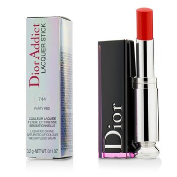 Christian Dior Dior Addict Barra de Laca - # 744 Party Red