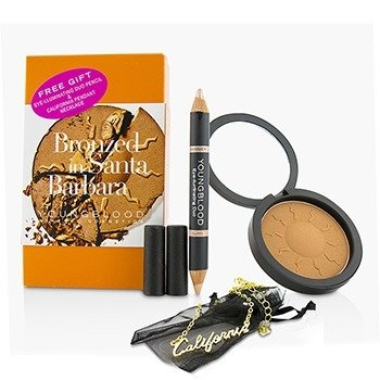 Youngblood Kit Resplandor Mineral - # Bronzed In Santa Barbara