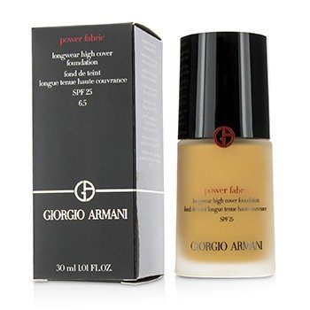 Giorgio Armani Power Fabric Longwear High Cover Foundation SPF 25 - # 6.5 (Medium Tan, Neutral)