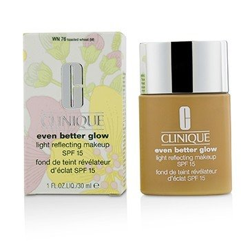 Clinique Even Better Glow Maquillaje Reflector de Luz SPF 15 - # WN 76 Toasted Wheat