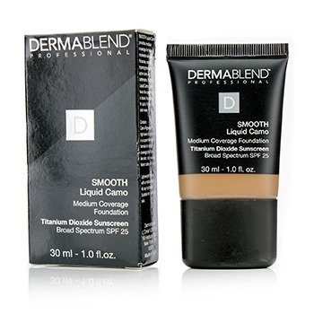 Dermablend Smooth Liquid Camo Base SPF 25 (Cobertura Media) - Cocoa (60N)