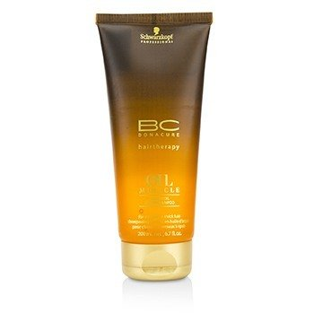 Schwarzkopf BC Oil Miracle Argan Oil Aceite-En-Champú (Para Cabello Normal a Grueso)