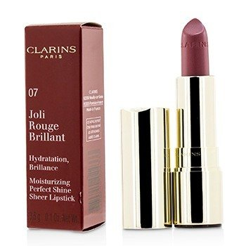 Clarins Joli Rouge Brillant (Moisturizing Perfect Shine Sheer Lipstick) - # 07 Raspberry