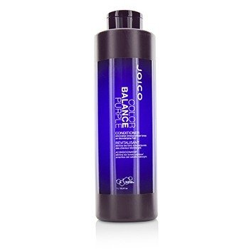 Joico Color Balance Purple Conditioner (Eliminates Brassy/Yellow Tones on Blonde/Gray Hair)