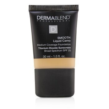 Dermablend Smooth Liquid Camo Base SPF 25 (Cobertura Media) - Bisque (30W)