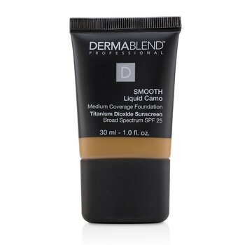 Dermablend Smooth Liquid Camo Base SPF 25 (Cobertura Media) - Cafe (65N)