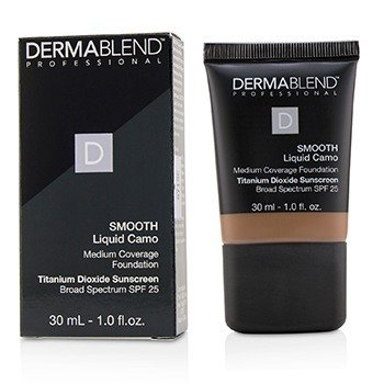 Dermablend Smooth Liquid Camo Base SPF 25 (Cobertura Media) - Cinnamom (80N)