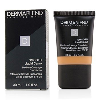 Dermablend Smooth Liquid Camo Base SPF 25 (Cobertura Media) - Copper (55W)