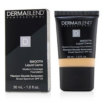 Dermablend Smooth Liquid Camo Base SPF 25 (Cobertura Media) - Linen (0C)
