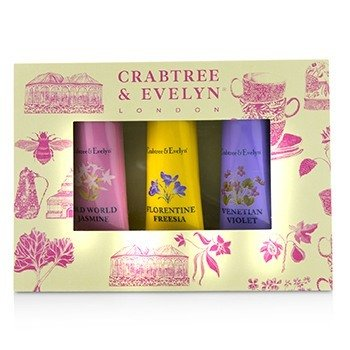 Heritage Hand Therapy Set (1x Old World Jasmine, 1x Florentine Freesia, 1x Venitian Violet)