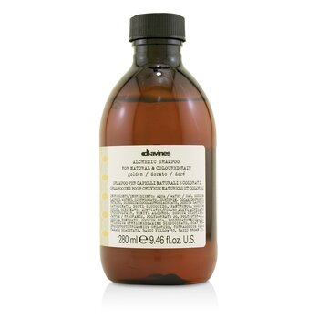 Davines Alchemic Shampoo - # Golden (For Natural & Coloured Hair)