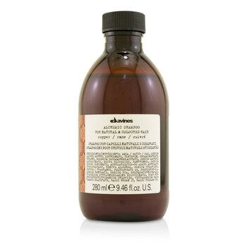 Davines Alchemic Champú - # Copper (Para Cabello Natural & Tinturado)