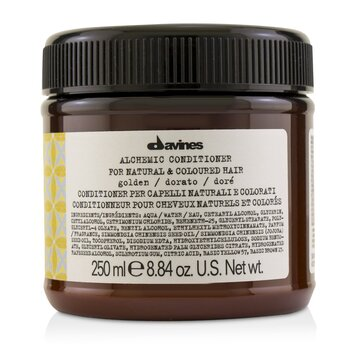 Davines Alchemic Acondicionador - # Golden (Para Cabello Natural & Tinturado)