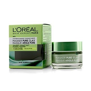 LOreal Skin Expert Pure Clay Mask -  Purify & Mattify
