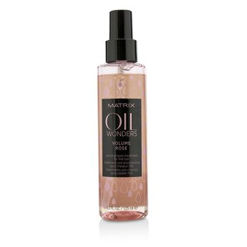 Matrix Oil Wonders Volume Rose Tratamiento Pre-Champú (Para Cabello Fino)