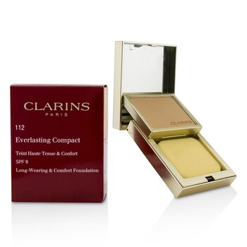 Clarins Everlasting Base Compacta SPF 9 - # 112 Amber