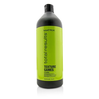 Matrix Total Results Texture Games Polymers Champú (For Texture)