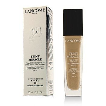Lancome Teint Miracle Base Natural Hidratante Look Saludable SPF 15 - # 03 Beige Diaphane