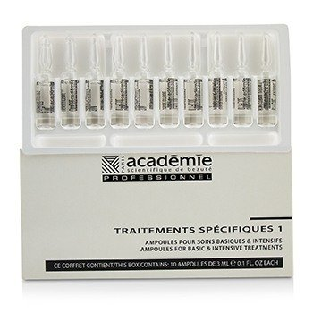 Academie Ampoules Integral Cells Extracts - Reduces Fine Lines