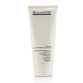Academie Refreshing Mask With Fruits Age Recovery Cream Mask (Salon Size)