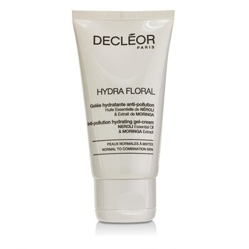 Decleor Hydra Floral Anti-Pollution Hydrating Gel-Cream - Normal to Combination Skin (Salon Product)