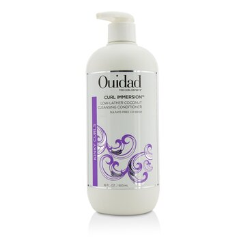 Ouidad Curl Immersion Low-Lather Coconut Acondicionador Limpiador (Kinky Curls)