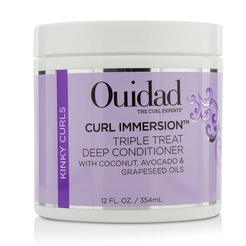Ouidad Curl Immersion Triple Treat Deep Acondicionador (Kinky Curls)