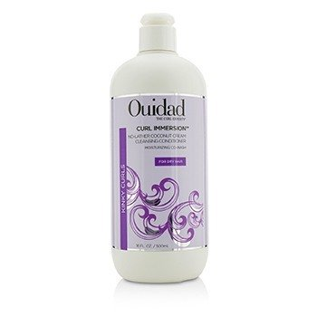 Ouidad Curl Immersion No-Lather Coconut Cream Acondicionador Limpiador (Kinky Curls)
