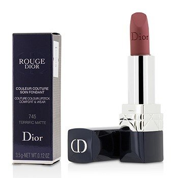 Christian Dior Rouge Dior Couture Pintalabios Mate Uso & Comodidad de Color - # 745 Terrific Matte