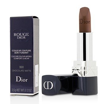 Christian Dior Rouge Dior Couture Colour Comfort & Wear Matte Lipstick - # 990 Chocolate Matte