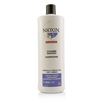 Nioxin Derma Purifying System 5 Cleanser Shampoo (Chemically Treated Hair, Light Thinning, Color Safe)