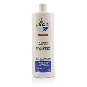 Nioxin Density System 6 Scalp Therapy Conditioner (Chemically Treated Hair, Progressed Thinning, Color Safe)