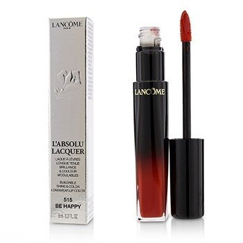 Lancome LAbsolu Lacquer Buildable Shine & Color Longwear Lip Color - # 515 Be Happy