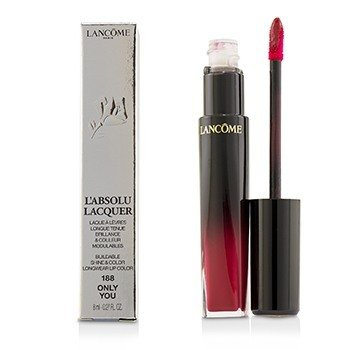Lancome LAbsolu Lacquer Buildable Shine & Color Longwear Lip Color - # 188 Only You