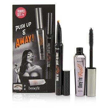 Benefit Set Theyre Real Push Up & Away